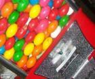 Verkoopautomaat kauwgom bal,  kauwgombal
