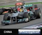 Lewis Hamilton - Mercedes - 2013 Chinese Grand Prix, 3e ingedeeld
