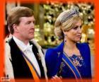 Willem-Alexander en Máxima nieuwe koningen van Holland (2013)