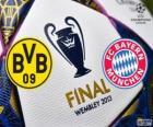 Borussia Dormunt vs Bayern München. Definitieve UEFA Champions League 2012-2013. Wembley Stadium, Londen, Groot-Brittannië