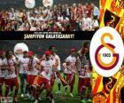 Galatasaray, kampioen Super Lig 2012-2013, Turkije voetbalcompetitie