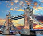 De Tower Bridge, Engeland