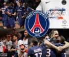 Paris Saint Germain, PSG, Ligue 1 2012-2013 kampioen, Frankrijk voetbalcompetitie