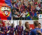 CSKA Moskou, kampioen van de Russische Football League, Premjer-Liga 2012-2013