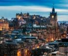 Edinburgh is de hoofdstad van Schotland, Verenigd Koninkrijk