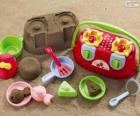 Accessoires voor het spelen op het strand