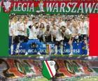 Legia Warschau, Ekstraklasa 2011-2012 kampioen, Polen voetbalcompetitie