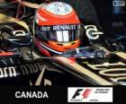 Romain Grosjean - Lotus - Circuit Gilles Villeneuve, Montréal, 2013