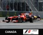 Fernando Alonso - Ferrari - 2013 Canada Grand Prix, 2º ingedeeld
