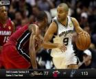 2013 NBA Finals, 3de match, Miami Heat 77 - San Antonio Spurs 113