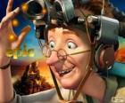Professor Bomba, een excentrieke wetenschapper