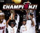 Miami Heat kampioen NBA 2013