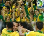 Brazilië, kampioen van Copa FIFA Confederations 2013