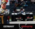 Kimi Räikkönen - Lotus - Grand Prix Duitsland 2013, 2º ingedeeld
