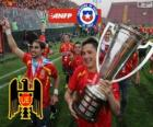 Unión Española, kampioen van het Torneo de Transición 2013, Chili