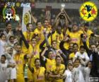 Club America, kampioen van het toernooi Clausura, Mexico