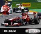 Fernando Alonso - Ferrari - 2013 Belgische Grand Prix, 2º ingedeeld
