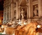 Trevi fontein, Rome, Italië