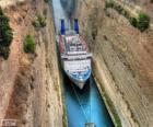 Kanaal van Korinthe, Griekenland