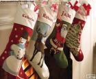 Kerst Sokken met decoratie