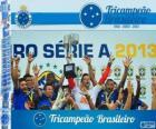 Cruzeiro, kampioen van de Braziliaanse voetbalbond kampioenschap in 2013. Brasileirão 2013