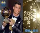 FIFA Ballon d'Or 2013 winnaar Cristiano Ronaldo