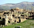 Djémila het beste bewaard Berbero-Romeinse ruines in Noord-Afrika, Algerije