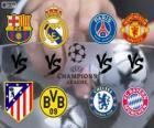Champions League - UEFA Champions League 2013-14 Kwartfinale