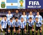 Selectie van Argentinië, Groep F, Brazilië 2014