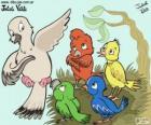 Vogels van kleuren, Julieta Vitali