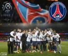 Paris Saint Germain, PSG, Ligue 1 2013-2014 kampioen, France football league