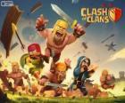 Verschillende troepen van het spel Clash of Clans