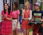 Francesca, Violetta, Ludmila en Maxi, Violetta 2