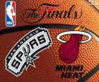 2014 NBA de finale. San Antonio Spurs vs Miami Heat