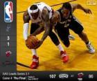 2014 NBA-de finale, 4e wedstrijd, San Antonio Spurs 107 - Miami Heat 86