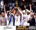 San Antonio Spurs kampioen 2014 NBA