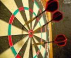 Darts en dartbord