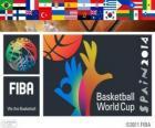 FIBA Wereldkampioenschap basketbal 2014. FIBA kampioenschap gehost door Spanje