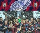 San Lorenzo de Almagro, kampioen van de Copa Libertadores 2014
