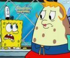 SpongeBob en Mevrouw Puff