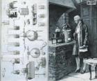 Antoine Lavoisier (1743-1794), Frans chemicus, beschouwd als de Schepper van de moderne scheikunde