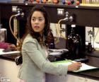 Gabriella Montez in het laboratorium