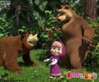 Masha met de twee beren
