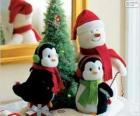 Kerstmis poppen