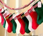 Kerst Sokken in diverse kleuren