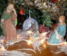 De kerststal beeldjes
