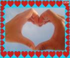 Gelukkig Valentijnsdag. harten Valentijnsdag