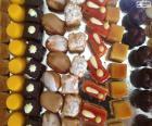 Mini zoete desserts