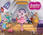 Angelina Ballerina en haar vrienden in een essay