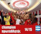 Olympiakos FC kampioen 2014-2015